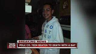 Sheriff: Lake Wales teen beaten to death by friend with baseball bat - Video