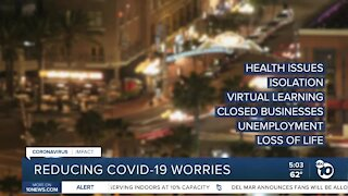 Reducing COVID-19 worries