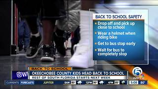Okeechobee County students head back to school - Video