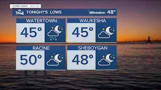 Cool evening ahead, with low 60s expected Wednesday
