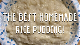 Homemade Rice Pudding