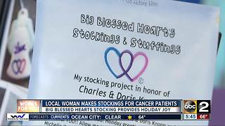 Local woman prepares to spend holiday season spreading joy to cancer patients - Video