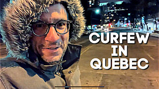 Curfew under Quebec