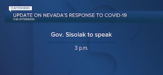 Update on Nevada's response to COVID-19