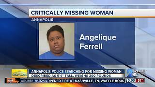 Police searching for critically missing Annapolis woman