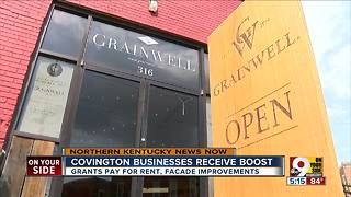 Covington business owners look to improve shops with city grant - Video