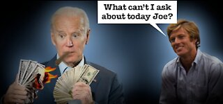 What did Biden do with all the Money because he always needs more?