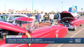 Cruise for peace and unity