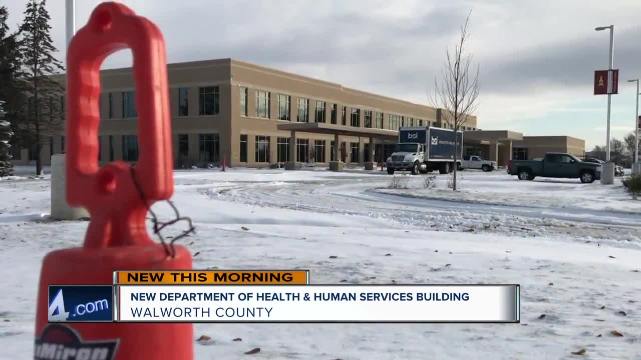 Walworth County's new Health and Human Services building nears completion