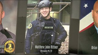 Ride to Remember stops at MPD to honor fallen officer Matthew Rittner
