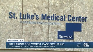 St. Luke's Medical Center to reopen with ICU beds