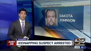 Mugshot released of accused Phoenix kidnapping suspect