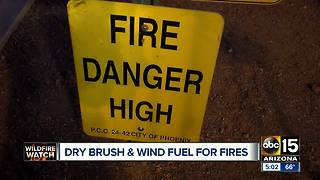 Chino Valley fire 80% contained - Video
