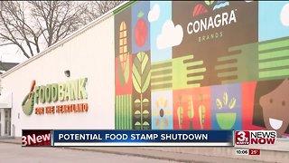 Government shutdown a looming problem for food stamps - Video