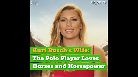 Kurt Busch's Wife: The Polo Player Loves Horses and Horsepower
