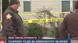 Charges filed in Greenwood murder - Video