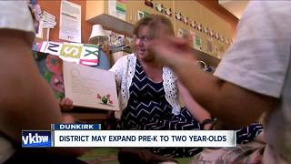 Dunkirk expands Pre-K program for younger kids