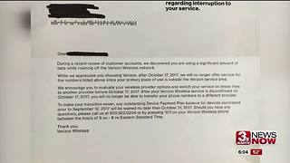 Ex Verizon customers left with high charges - Video