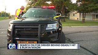 14-year-old killed in hit-and-run in Wixom - Video