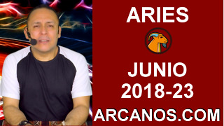 HOROSCOPO ARIES-Semana 2018-23-Del 3 al 9 de junio de 2018-ARCANOS.COM - Video