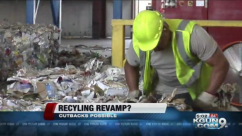 Tucson may cut back recycling