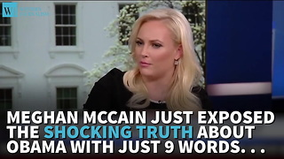Meghan McCain Denounces Obama's Actions Against Trump - Video
