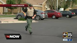 MCSO conducts active shooter drill at Queen Creek High School - Video