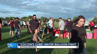 Colton's Cure hosts annual water balloon fight - Video