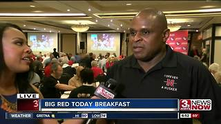 Former Nebraska player joins Big Red Today Breakfast - Video