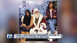 Family and friends remember victims of double shooting in Redford Township