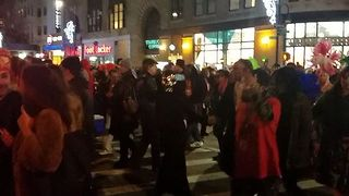 Halloween Parade in New York City Marches On Hours After Truck Attack - Video