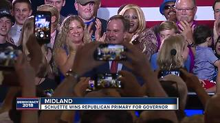 Bill Schuette wins Republican nomination for Michigan governor, AP reports - Video
