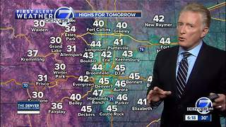 Colorado dries out next few days - Video