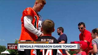 Bengals first preseason game vs. Tampa Bay Friday night - Video