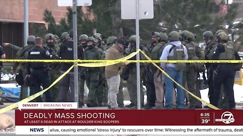 Full afternoon coverage: Multiple people killed, including officer, in shooting at Boulder King Soopers