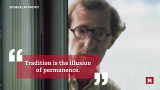 Woody Allen quotes to live by | Rare People - Video