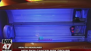 Study reveals new skin cancer risk groups - Video