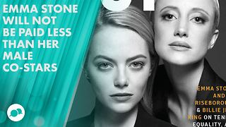 Which actor took less pay so Emma Stone could get more? - Video