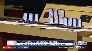 Local heroes honored in ceremony