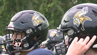 High school football teams across Michigan kick off their seasons - Video
