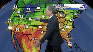 Unseasonably Chilly Weather Continues - Video