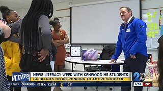 News Literacy Week with Kenwood High School Students: Guidelines on Responding to Active Shooter