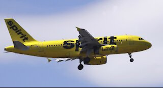 Reports: Woman died of COVID-19 on Spirit Airlines flight