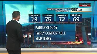 Patchy fog this AM. Rain possible this weekend - Video