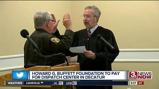 Howard Buffet Foundation opens dispatch center in Illinois - Video