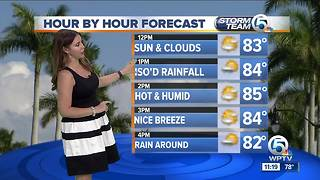 South Florida Wednesday afternoon forecast (4/4/18) - Video