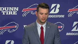 A.J. McCarron addresses decision to sign with Buffalo Bills - Video