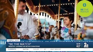 4-year-old battling leukemia asking people to donate through 'Be the Match'
