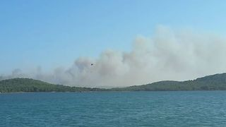 Ayvalik Wildfire Burns Three Hectares - Video