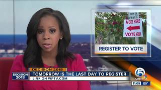 Tuesday last day to register to vote for November election